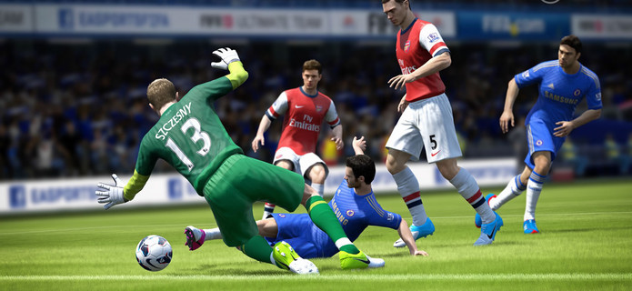 FIFA 13 Wii U Preview