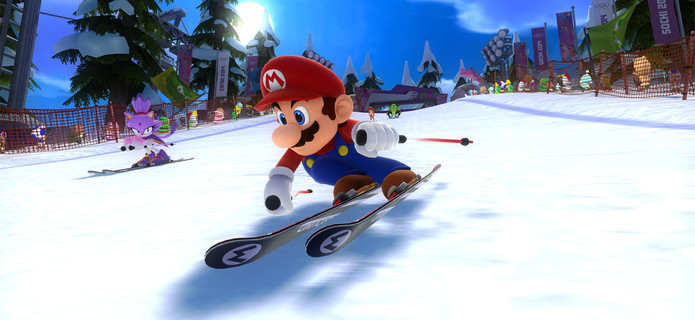 Mario &amp Sonic at the Sochi 2014 Olympic Winter Games revealed