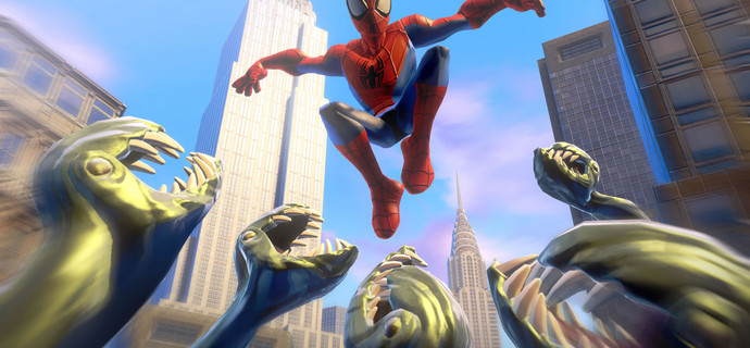 Spiderman swings into Disney Infinity 20