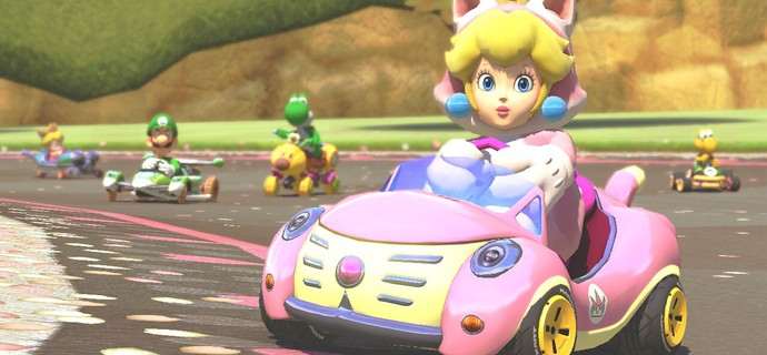 Animal Crossing villager Link and Cat Peach come to Mario Kart 8 as DLC