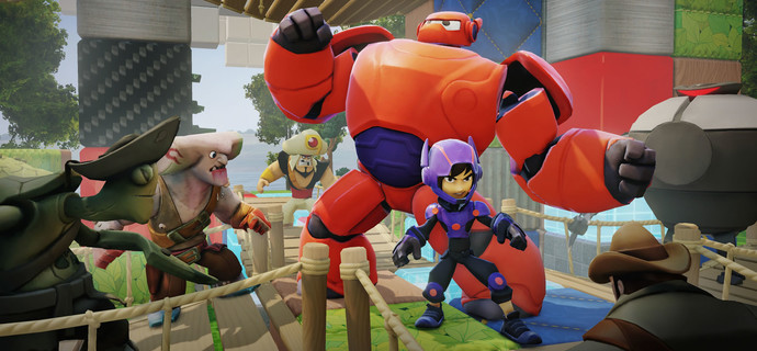 Big Hero 6s Hiro and Baymax come to Disney Infinity 20  Everybody Plays