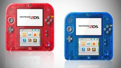 Nintendo 2DS Transparent Red and Nintendo 2DS Transparent Blue due for launch on 7th November