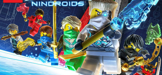 LEGO Ninjago Nindroids Review   Everybody was Spinjitsu fighting
