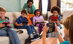 Where best for a children's games console: bedroom or living room?