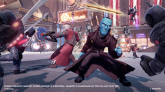 Need a hero? We take a look at Falcon and Yondu in Disney Infinity 2.0.