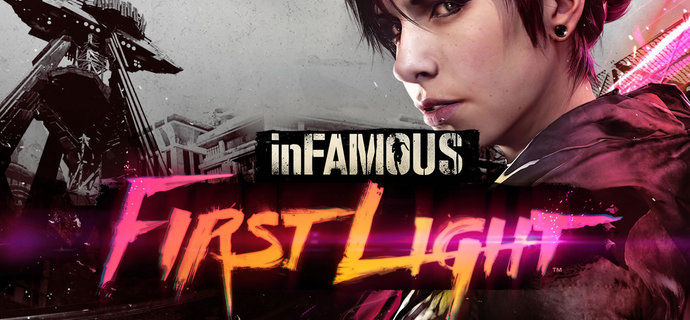 Infamous First Light Review Bright lights big city