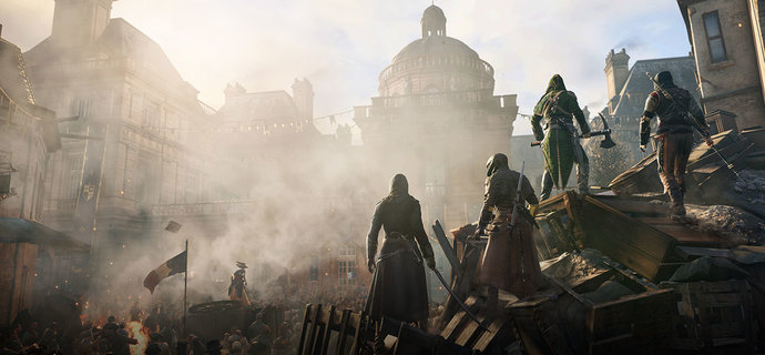 Assassin S Creed Unity Review All For One Everybody Plays