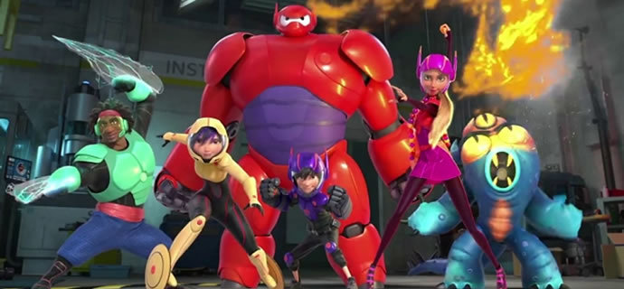 Big Hero 6 Battle In The Bay Balalala