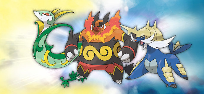How to get Serperior Emboar and Samurott in Pokemon Omega Ruby and Alpha Sapphire