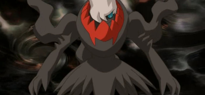 Get a free Darkrai in the latest GAME Pokemon distribution