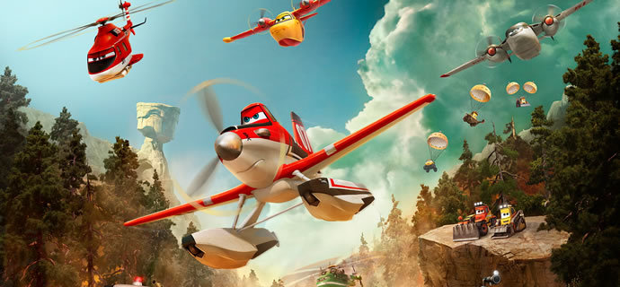 Planes Fire and Rescue Review Up up and away