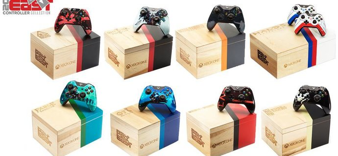 Custom Halo 5 Witcher 3 Ori Xbox One controllers announced