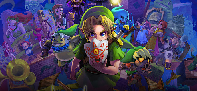 The Legend of Zelda Majoras Mask 3D Review   72 Hours Remain