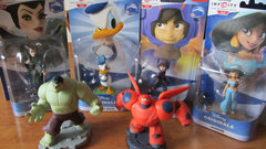 Baymax, Donald Duck and Jasmine crash into Disney Infinity