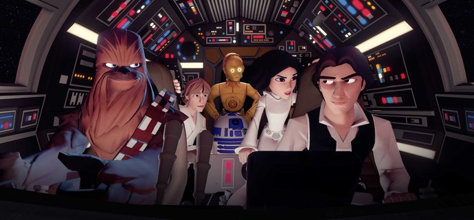 Disney Infinity 30 Star Wars is now official