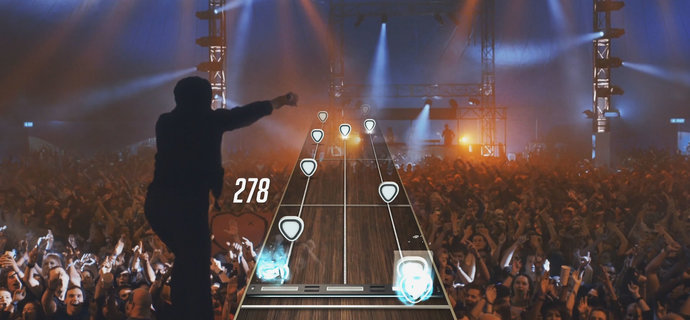 First 20 tracks on the Guitar Hero Live song list revealed