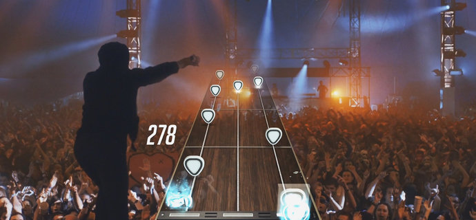 Guitar Hero Live gets ten new tracks