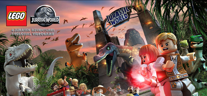 LEGO Jurassic World gets a release date and trailer