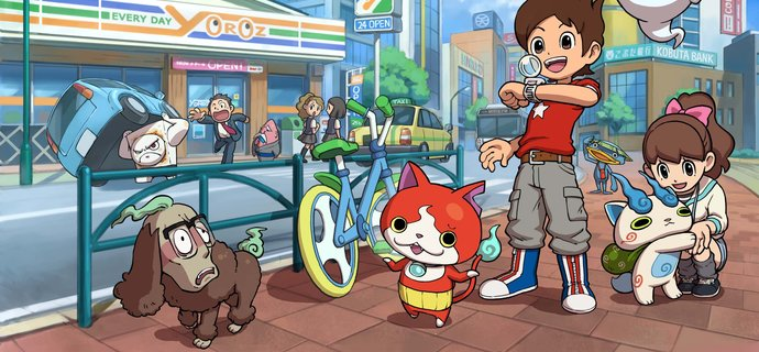Level 5s Yo kai Watch coming to the 3DS this Christmas