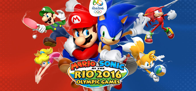 Mario &amp Sonic at the Rio 2016 Olympic Games revealed for Wii U and 3DS