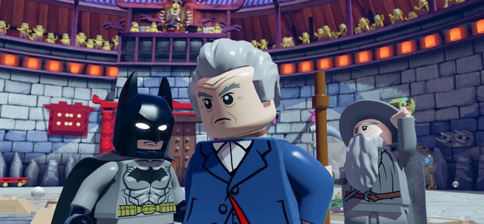 Every Doctor Who is in LEGO Dimensions   see it in action