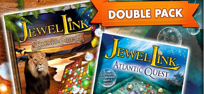 Jewel Link Double Pack Atlantis Quest and Safari Quest Review