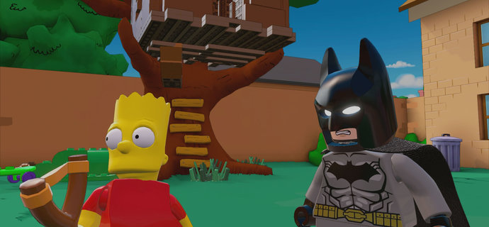 LEGO Dimensions The Simpsons and Midway Arcade