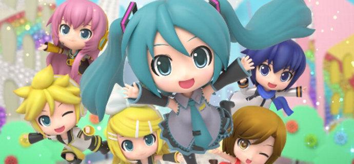 Hatsune Miku Project Mirai DX   Chibi bopper
