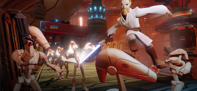 Disney Infinity 30 Star Wars Review Ruling the galaxy