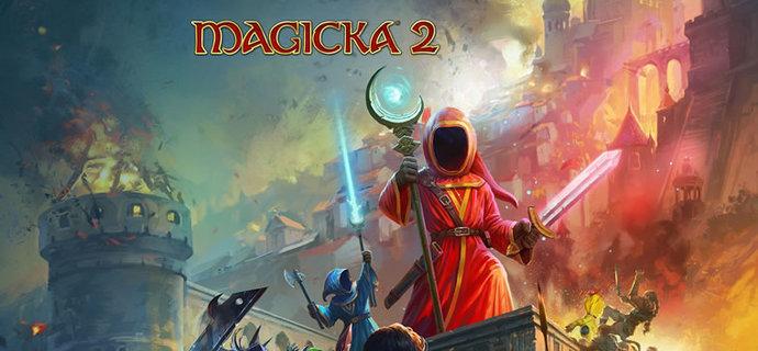 Magicka 2 Review Weird wizards