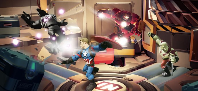 Marvel Battlegrounds Play Set coming to Disney Infinity