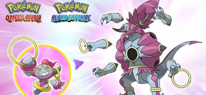Free Hoopa Pokemon available at GAME this Halloween