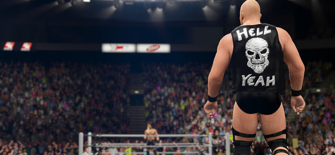 WWE 2K16 Back in the running