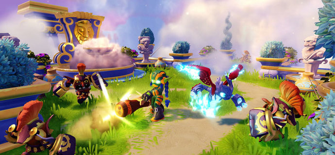 The Skylanders SuperChargers ending theme has to be heard  Everybody Plays