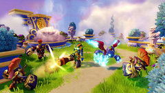 The Skylanders SuperChargers ending theme has to be heard