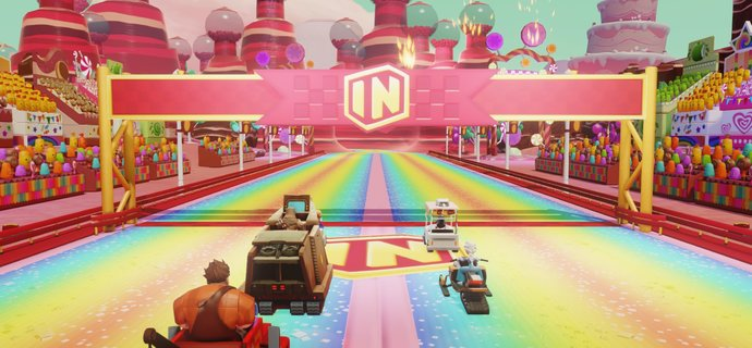 Parents Guide Disney Infinity 30 Toy Box Speedway  Age rating mature content and difficulty  Everybody Plays