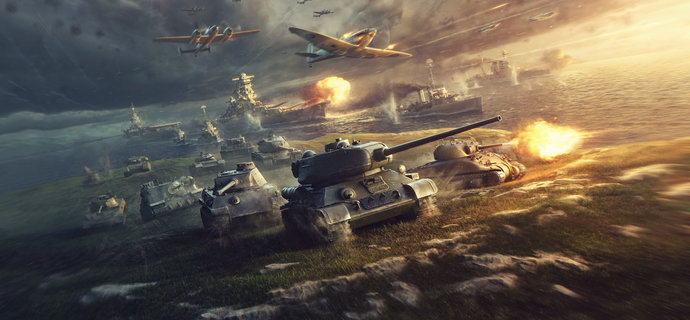 World of Tanks Xbox One Review Woah thats a big gun