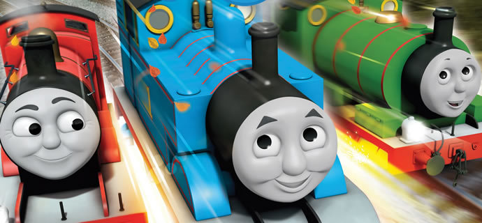 WIN: One of five copies of Thomas and Friends: Steaming around ...
