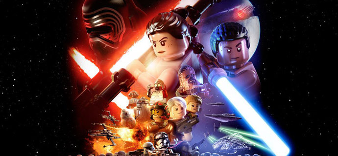 LEGO Star Wars: The Force Awakens is real. All of it