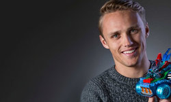 The Stig and Max Chilton design their own Skylanders Superchargers vehicles for The Make-A-Wish Foundation