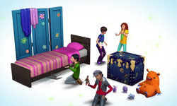 What can we learn from the Sims 4 Restaurant/Kids Stuff Pack tease?