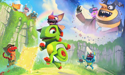 First Look: Colourful platform revival in Yooka-Laylee