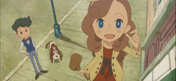 Lady Layton The Millionaire Ariadones Conspiracy Announced