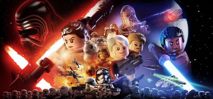 LEGO Star Wars The Force Awakens Review  Everybody Plays