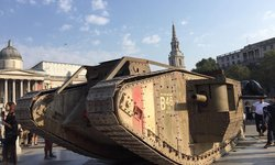 Wargaming park tank in London to launch WW1 modes in World of Tanks on PC, console and mobile