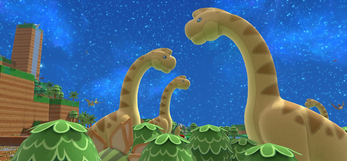 World-building sandbox Birthdays the Beginning shows off dinosaurs and evolution in debut trailer