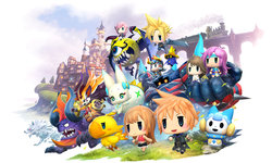 World of Final Fantasy Review: Monster Mash