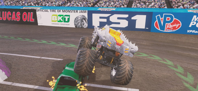 Parents Guide Monster Jam Crush It  Age rating mature content and difficulty  Everybody Plays