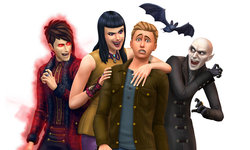 The Sims 4: Vampires Pack adds Gothic furniture, blood sucking and immortality!