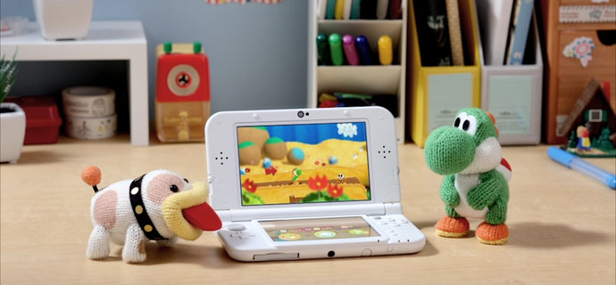 Poochy & Yoshis Woolly World Review Fluff on the go